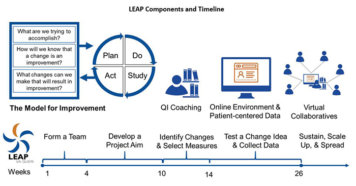 LEAP Components and Timeline